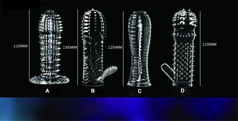 crystal penis sleeve